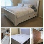 DIY King Size Bed Using Wood And Plywood
