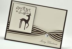 Stampin Up Dasher  Could just twist the ribbon.  Glue one end up to the point where you want the twist to start.  Let dry.  Twist and finish glueing.
