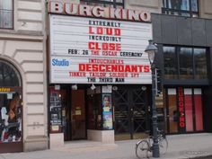 This cinema in Vienna still shows the movie 'The Third Man' on a regular basis. Only English movie theater in Wien.