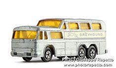 Matchbox Vintage Greyhound Bus