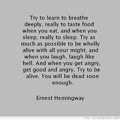 trata de aprender a respirar profundamente a saborear la comida cuando comes - Buscar con Google