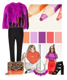 """Magenta + Orange"" by cherieaustin on Polyvore featuring ALDO, Burberry, Philosophy di Lorenzo Serafini, Christian Louboutin and Isabel Marant"