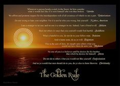 The Golden Rule in World Religions - artwork by Carol Foerster at: http://fineartamerica.com/featured/the-golden-rule-carol-herren-foerster.html