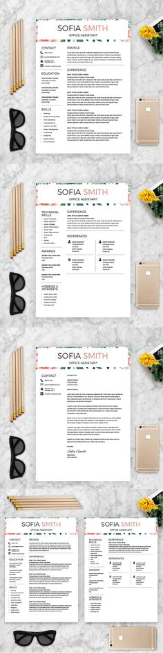 FREE Resume Template 1100020 - Premium line of Resume \ Cover - interactive resume template