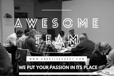 Web & Graphic Design  Nós simplesmente amamos a energia, a visão, a paixão e a criatividade de todos os membros da equipa. We just loved the energy, the vision, the passion and the creativity of all team members. #creativexspot #creativewebdesign #weputyourpassioninitsplace