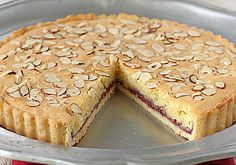 The Galley Gourmet: Italian Almond Raspberry Tart