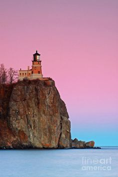 ✮ Split Rock Lighthouse - Minnesota One of the most beautiful places I have ever traveled.