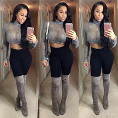 Tough Love top and Puss'n Boots shoes at NEEDMYSTYLE.COM   #Slipper #shoe #croptop #needmystyle #outfit #playsuit #playsuit #stiletto #stilettos #bikini #bodycon #bodysuit #heelsaddict #thighhighboots #fashion #romper #selenagomez #heels #jumpsuit #booties #rihanna #clothing #kyliejenner #swimsuit #beyonce #sandals #kimkardashian #BOOTs #SHOES #highheels