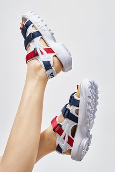 FILA Transformed the Disrupter Into Summer Sandals Source by myababaya shoes adidas Fila Sandals, Shoes Flats Sandals, Shoes Sneakers, Sneakers Women, Adidas Sneakers, Adidas Superstar, Pretty Shoes, Cute Shoes, Zapatos Shoes