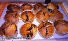 Málnás-csokis muffin Muffin, Breakfast, Cakes, Food, Morning Coffee, Cake Makers, Kuchen, Essen, Muffins