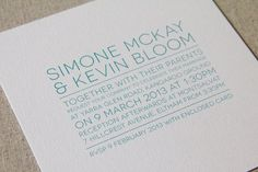 In Line  Printable Wedding Invitation Set by mikiodesign on Etsy, $30.00