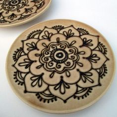Mehndi Design dishes!