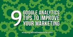 Nine tips to help you get more out of Google Analytics. | Social Media Examiner http://fleetheratrace.blogspot.co.uk/2015/04/9-free-analytics-tools-for-your-content.html #webanalytics #analytics #googleanalytics tips and tricks #infographic
