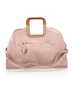 Segolene Pink Satchel