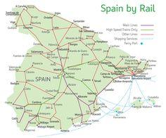 spain rail map
