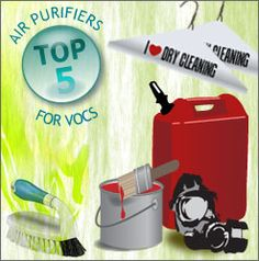 Top Five VOC and MCS Air Purifiers