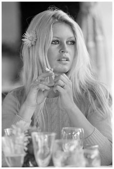 Brigitte Bardot on the set of 'Shalako', directed by Edward Dmytryk, 1968. Photo by Terry O'Neill