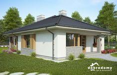 Adele - Dobre Domy Flak & Abramowicz House Layout Plans, House Layouts, Adele, Bungalow, My House, Gazebo, Shed, Farmhouse, Outdoor Structures