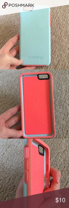 OTTERBOX Phone Case! For  IPhone 6 Plus! iPhone 6 Plus otterbox! Good condition..shows some signs of wear, but will definitely still protect your phone! Feel free to make me an offer! OtterBox Other