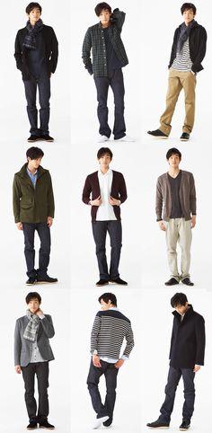 Muji Men's Lookbook