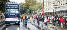 Streetparade in Vienna Times Square, Travel, Voyage, Viajes, Traveling, Trips, Tourism