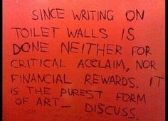The homework. | 20 Types Of Bathroom Graffiti You'll Only See In Britain