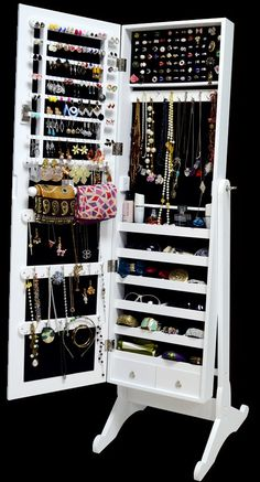 Free Shipping! Floor Standing Jewelry Armoire | Jane