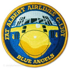 """Blue Angels """"Fat Albert Airlines"""" - Official Patch - MP0102"""