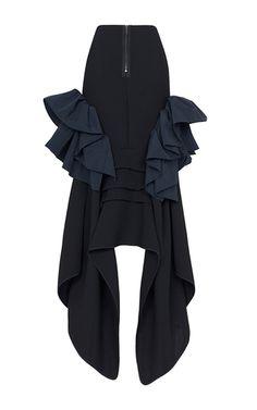 Underworld Ruffle Skirt by MATICEVSKI for Preorder on Moda Operandi