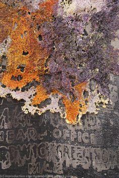 Ardwick detail - screen printed cotton stitched and distressed felt Sue Hotchkis Textile Fiber Art, Textile Artists, A Level Textiles, Fabric Manipulation, Felt Art, Art Sketchbook, Fabric Art, Textures Patterns, Textile Design