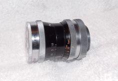 Kern-Paillard Switar 10mm f1.6 C-Mount Lens *Nice*