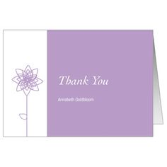 88 best bar bat mitzvah thank you cards images on pinterest bat this modern bat mitzvah thank you card design features a lavender background with your personalized thank you message in white script m4hsunfo