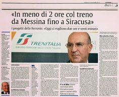 """I Pendolari e le Infrastrutture in Sicilia: """"Così cambieremo le Ferrovie in Sicilia"""" Ma sull'alta velocità cala il buio fitto"""