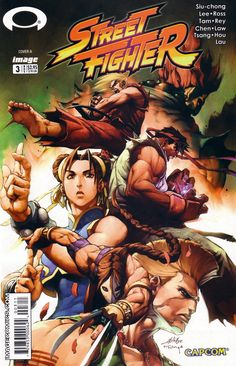 Street Fighter (2003) Issue #3 - Read Street Fighter (2003) Issue #3 comic online in high quality