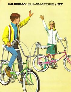 bicycles, 1970--no lie--my sister and I got blue ones with sparkly white seats for christmas in 1969. . .