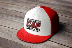 Snapback Cap Mockup by Mock-up Store on @creativemarket