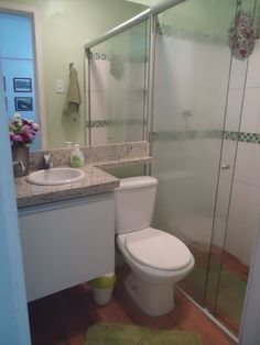 Banheiro verdinho
