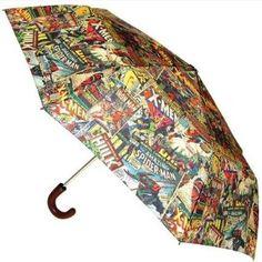 #Marvel Comics - Multi Character Umbrella. #Comicbook