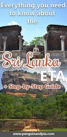 You're planning a trip to Sri Lanka? Amazing! In order to enter Sri Lanka you will need a visa, called ETA. We tell you everything you need to know about the Sri Lanka ETA and walk you through the application process - step by step. #srilanka #travelvisas #traveltips