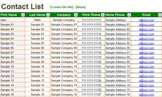 How to properly manage your #EmailContact List in #Excel. A smart and effective way.   www.contactdb.com