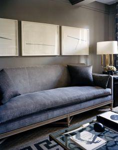Calvin Klein fashion designer Francisco Costa's New York apartment.