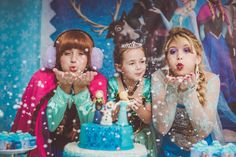 #aniversário #birthday #frozen #elsa #anna #olaf #parabens #fotografia #festa #photography #peppermintstudio