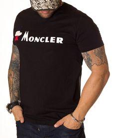 Moncler Tricou Bird Logo - Negru   Tricouri cu guler rotund   Tricouri   Brande Bird Logos, Marimo, Moncler, Mens Tops, T Shirt, Fashion, Supreme T Shirt, Moda, Tee Shirt