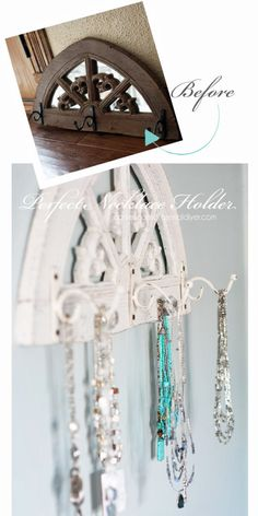 The Perfect Necklace Holder | Confessions Of A Serial Do-it-Yourselfer