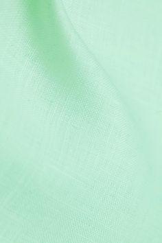 Tissu lin Vert Eau - 100% lin