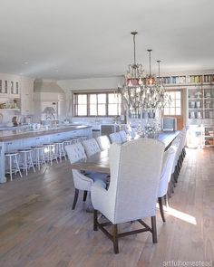Ideas for Decorating an Elegant Dining Room Dining Room Remodel, Home, Dining Room Design, Long Dining Room Tables, Luxury Dining Room, Luxury Homes, Luxury Dining, Small House Remodel, Large Dining Room