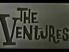 THE VENTURES - RAWHIDE The Ventures, Instrumental, Chevrolet Logo, Music Videos, My Love, Youtube, My Boo, Youtubers, Instrumental Music