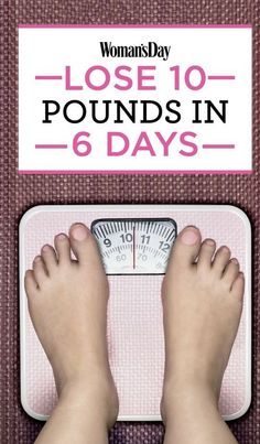 An Easy 6-Day Plan To Lose 10 Pounds | Fitness, health, Makeup and Beauty