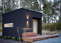 Little black guest house