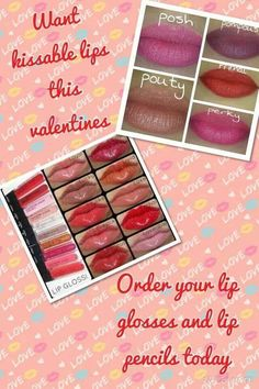 I love Younique's Lipgloss....no sticky feeling!  Goes on smooth and feel great!